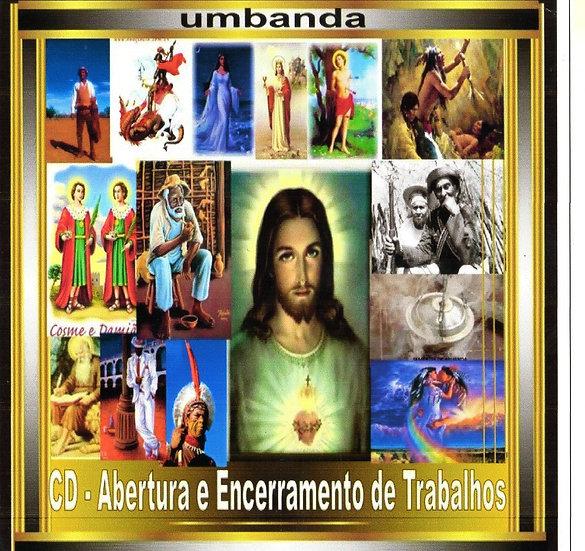 CD UMBANDA - ABERTURA E ENCERRAMENTOS DE TRABALHOS