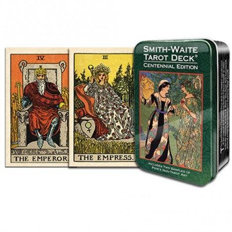 Smith - Waite Centennial Tarot in a tin - Lata