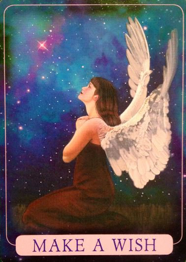 Indigo Angel oracle( 44 cards + Guidebook )