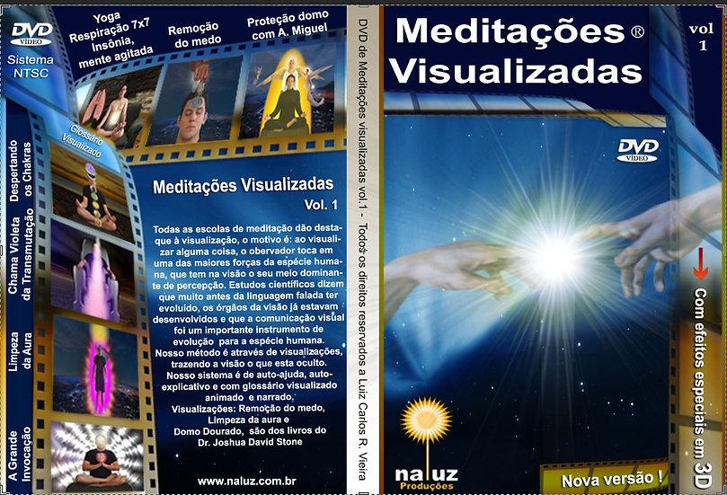 MEDITAÇÕES VISUALIZADAS VOL. 1