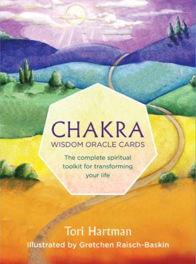Chakra Wisdom Oracle Cards ( 49 Cartas & Guidebook )