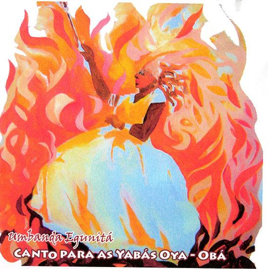 CD CANTO PARA YABÁS OYA - OBA