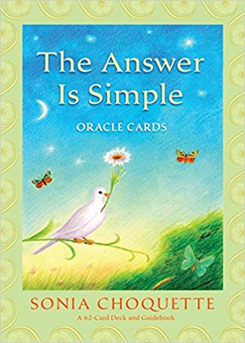 The Answer is Simple Oracle Cards ( 62 Cartas & Guidebook )