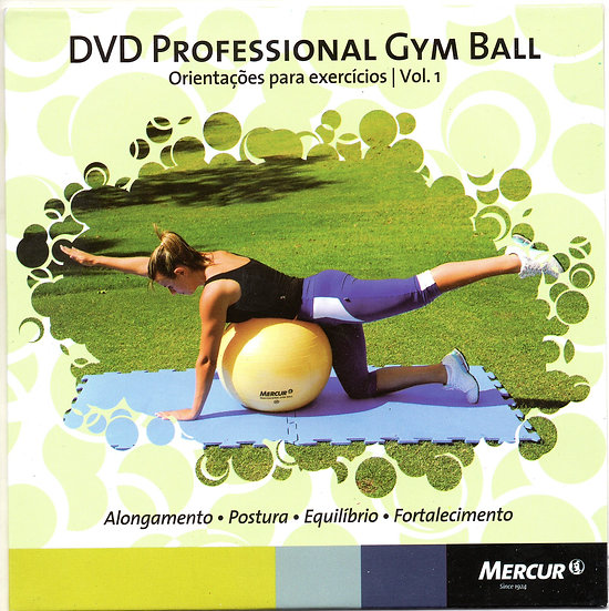 DVD PROFESSIONAL GYM BALL