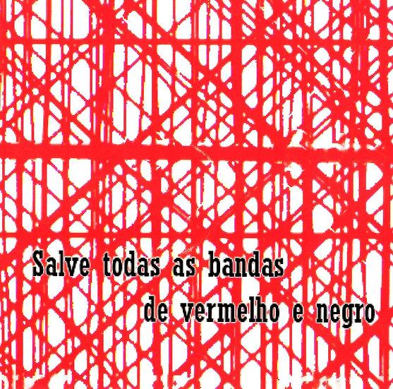 CD SALVE TODAS AS BANDA DE VERMELHO E PRETO