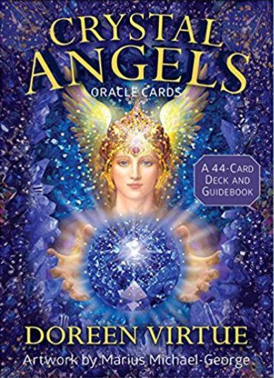 Crystal Angels Oracle Cards ( 44 Cartas & Guidebook )