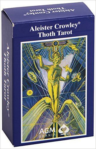 Aleister Crowley Thoth Tarot - TamanhoGrande