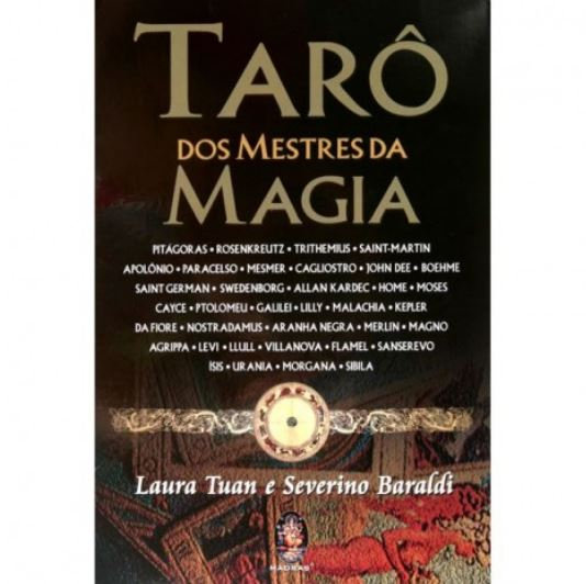 Tarô dos Mestres da Magia (Livro + Baralho)