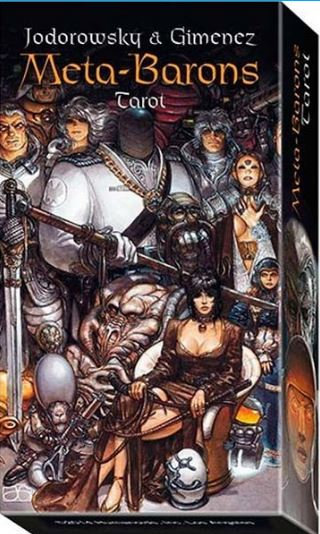 Meta-Barons Tarot - Editora Lo Scarabeo  Descrição Baralho com 78 cartas de Tarô