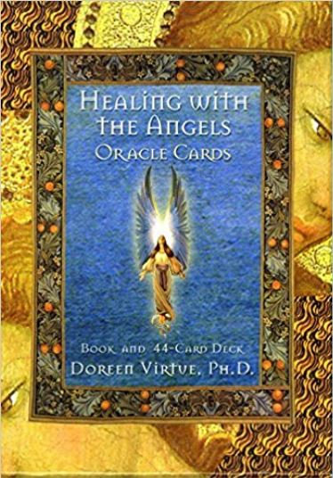 Healing with the Angel Oracle Cards ( 44 Cartas & Guidebook )