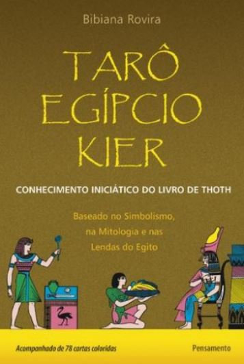 Tarô Egípcio Kier (Livro + Cartas)