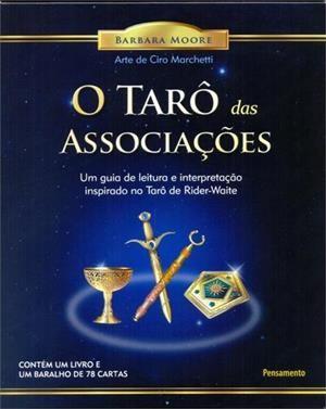 Tarô das Associações (Livro + Cartas do Tarô Dourado)