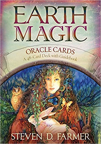 Earth Magic Oracle Cards ( 48 Cartas & Guidebook )