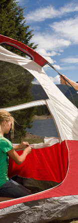 Camping filles