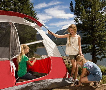 Tent Camping Brockville, tent camping mallorytown, lucky loon family campground