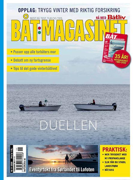 COVER - Båtmagasinet 11-2020 ny horisont