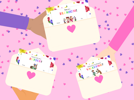 Printable Valentine's Day Cards for Kids!