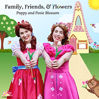 Family, Friends, and Flowers CD Cover (1