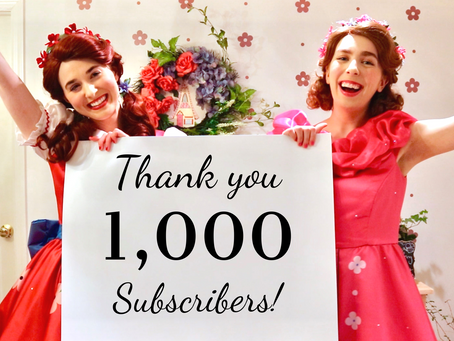 1,000 YouTube Subscribers!!!