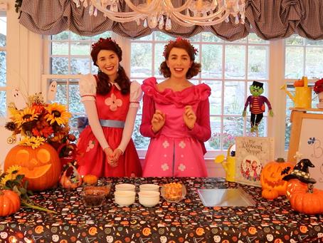 Poppy and Posie's Halloween Activities