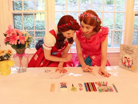 Get Ready to Craft, Color, and Create With Poppy and Posie Blossom!
