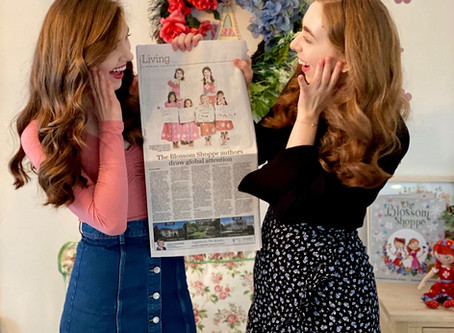 The Blossom Company Makes the Front Page!
