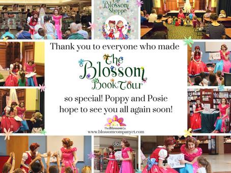 The Blossom Book Tour