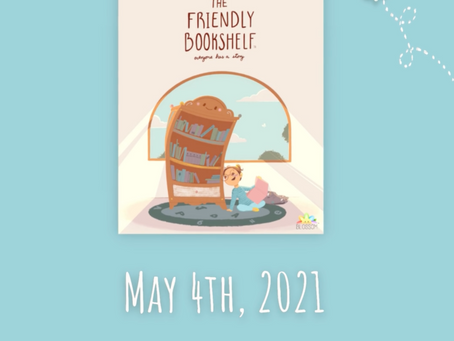 Blossom Announces The Friendly Bookshelf Kickstarter Pre-Launch Date!