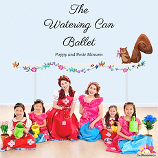 Watering Can Ballet CD Cover (w_polka do