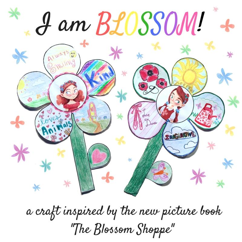 I am BLOSSOM Printable Flower Craft