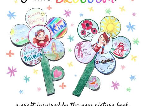"""I Am Blossom!"": Craft Inspired by ""The Blossom Shoppe"""