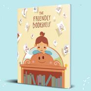 The Friendly Bookshelf Mockup (Blue Back