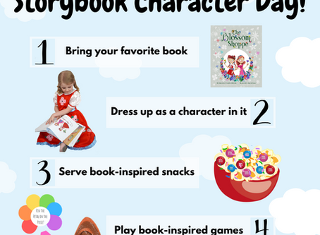 Plan Your Own Storybook Character Day!