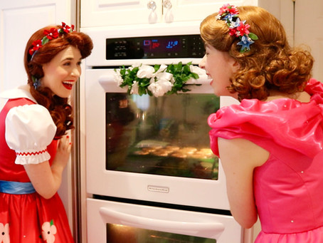 Baking with Poppy and Posie Blossom!