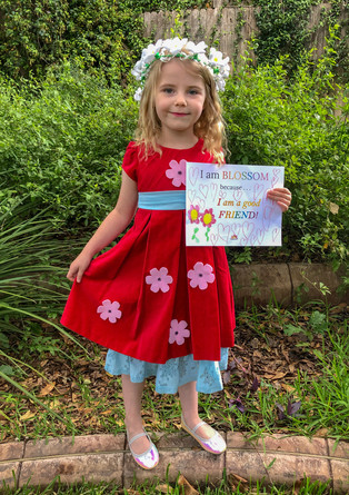 Miriam shares why she is BLOSSOM in her homemade Poppy Blossom costume!