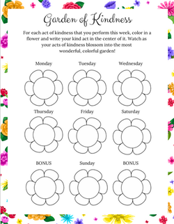 Poppy & Posie's Garden of Kindness Printable Activity - The Blossom Shoppe