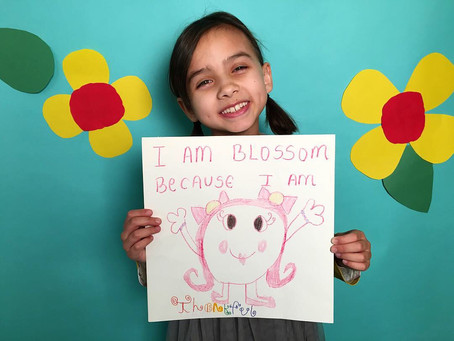 Happy April 1st! Meet Our BLOSSOM Kid of the Month . . . Zoe!