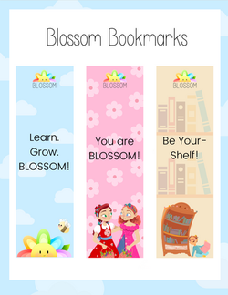 Blossom Bookmarks