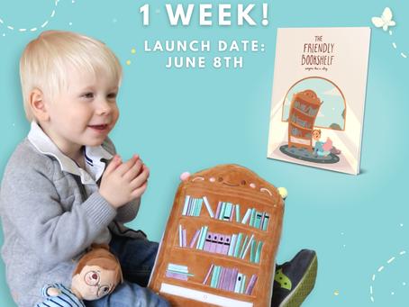 The Friendly Bookshelf Kickstarter Launches in 1 Week!!!