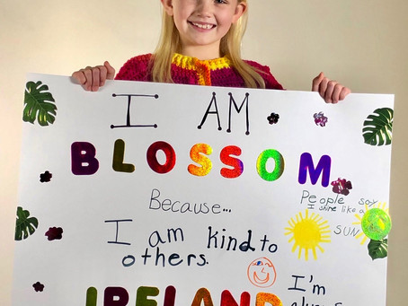Meet Ireland: Our Blossom Kid for the Month of February!