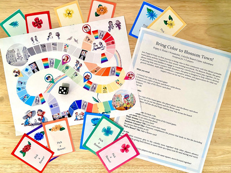 Printable Board Game for Kids!