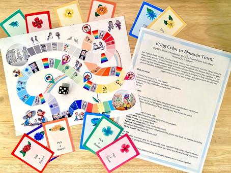 Printable Board Game for Kids!