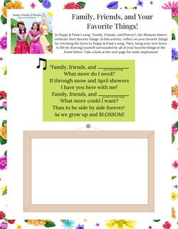 Songwriting Printable Activity for Kids