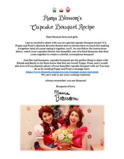 Mama Blossom's Cupcake Bouquet Recipe