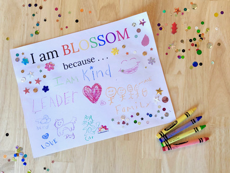 Be a part of Poppy and Posie's #IAMBLOSSOM Campaign!