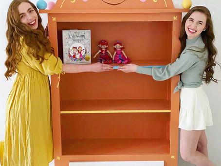 Caroline & Katherine Welcome Bibli into the Blossom Studio!