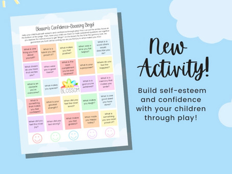 Confidence-Boosting Bingo for Kids!