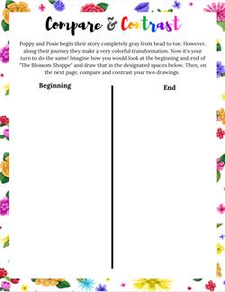 Compare & Contrast Printable Activity for Kids
