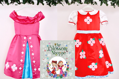 """The Blossom Shoppe"" Book & Costume Bundle"