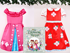 """""""The Blossom Shoppe"""" Book and Costume Bundle"""